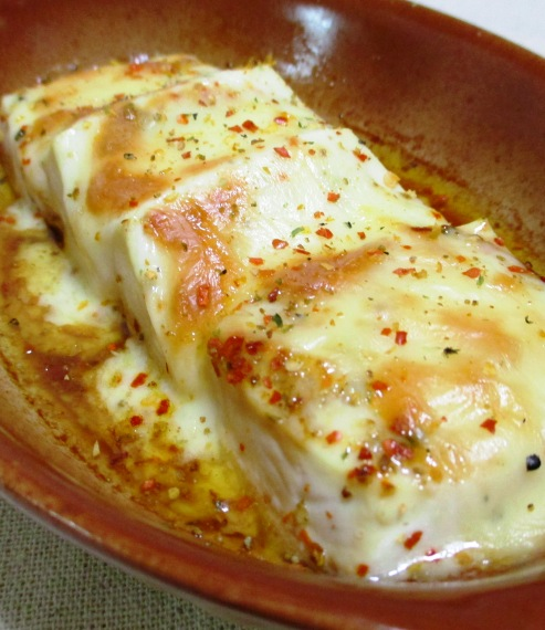 豆腐の七味チーズ焼き 大