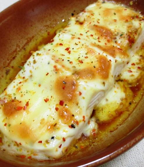 豆腐の七味チーズ焼き B