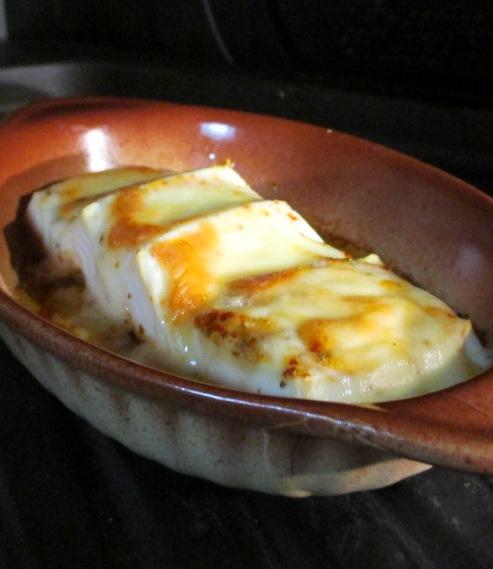 豆腐の七味チーズ焼き 拡大