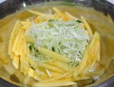 シナモンコールスローサラダ 調理③