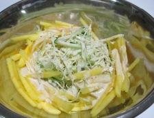 シナモンコールスローサラダ 調理④