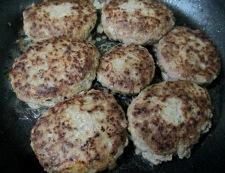 煮込みハンバーグ 調理②
