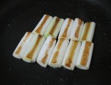 長ねぎ照り焼き 調理②