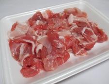 キャベツと豚肉のしょうが焼き 材料①