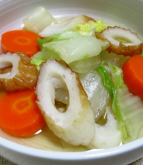白菜竹輪 B