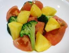 柿トマト 調理④