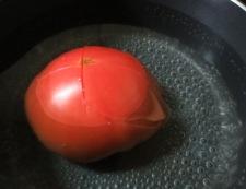 柿トマト 調理③