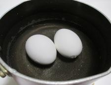 海老とブロッコリーの卵サラダ 調理①