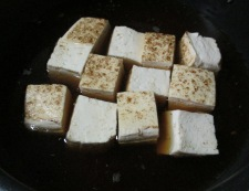 豚こまと焼き豆腐のさっと煮 調理②