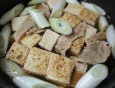 豚こまと焼き豆腐のさっと煮 調理④