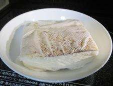 豚こまと焼き豆腐のさっと煮 【下準備】①