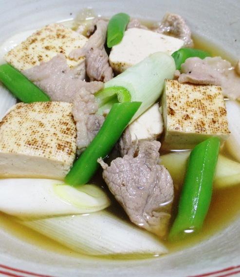 豚こまと焼き豆腐のさっと煮 拡大