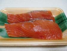 マリネ秋鮭のチーズパン粉焼き 材料