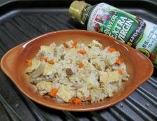 炊き込みご飯のチーズ焼き 調理②