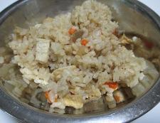 炊き込みご飯のチーズ焼き 材料