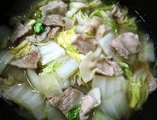 豚パラ白菜 調理④