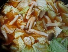 マロニースープ 調理①