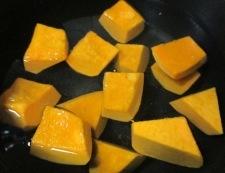 かぼちゃのレモンバター醤油和え 調理②