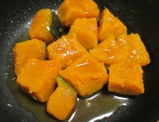 かぼちゃのレモンバター醤油和え 調理④