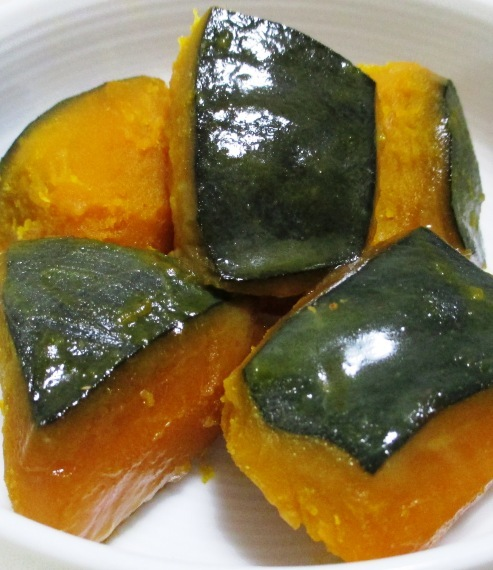 かぼちゃのレモンバター醤油和え 大③