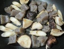 厚揚げと根菜の煮物 調理③