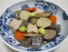 厚揚げと根菜の煮物 調理⑥