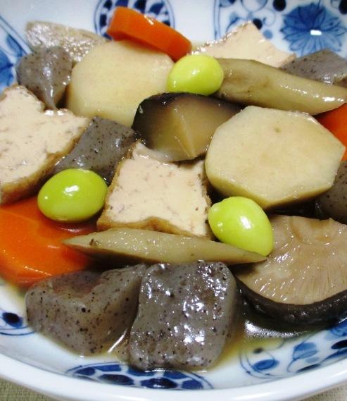 厚揚げと根菜の煮物 大