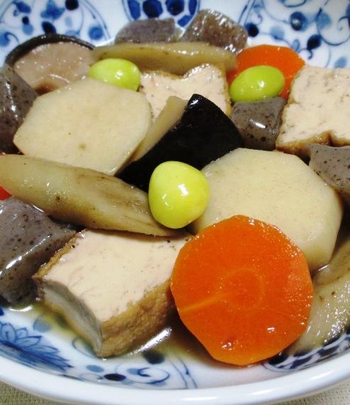 厚揚げと根菜の煮物 B