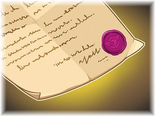 甘酸っぱい秘密 ブラックウィングの手紙