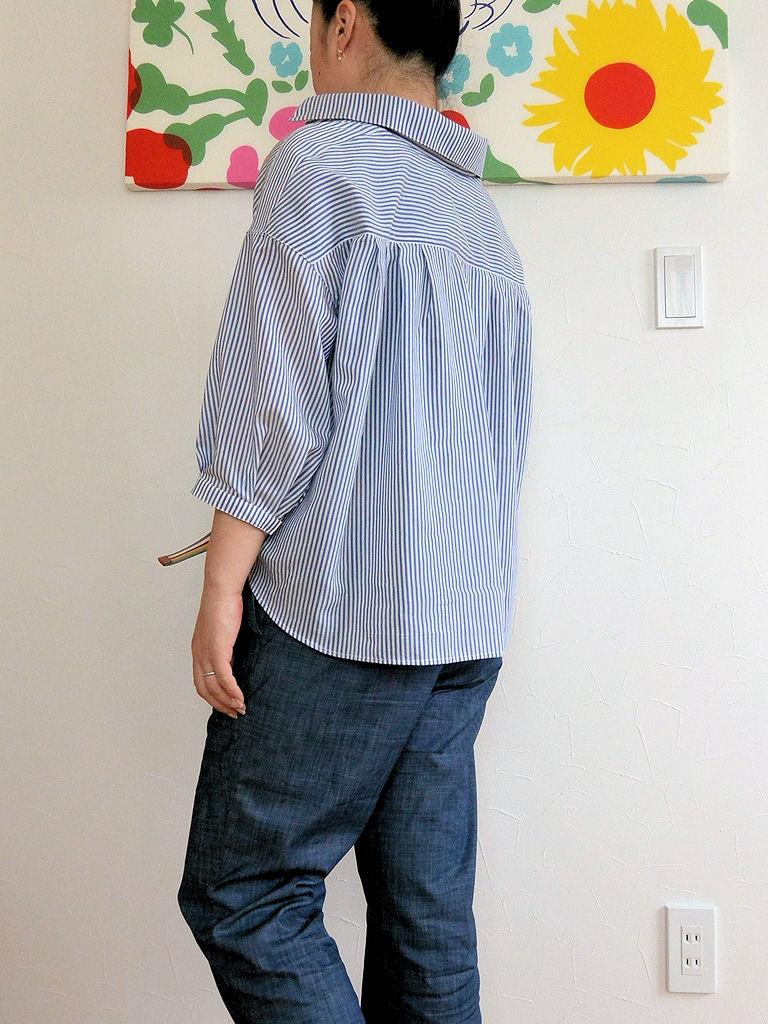ストライプシャツ5