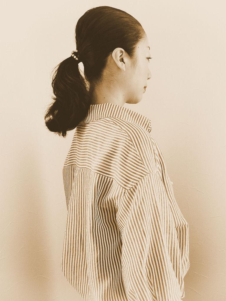 ストライプシャツ11
