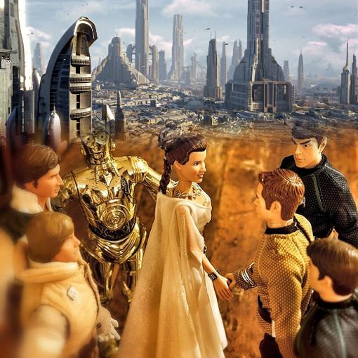 銀河共和国へ訪れた-明菜議長