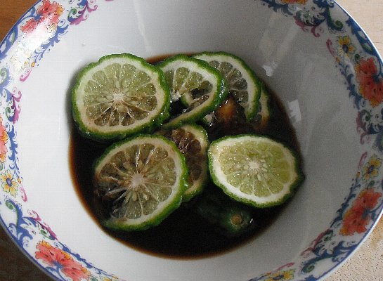 herbal soy souce with kaffir