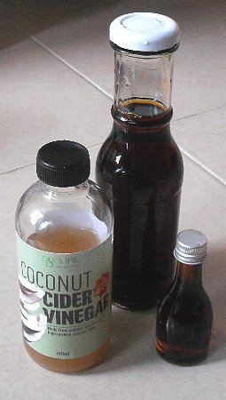 my vinegar for meal