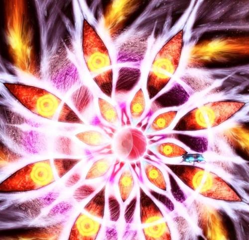 粒子みたいなのがアルw