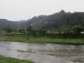 小雨の小川瀬
