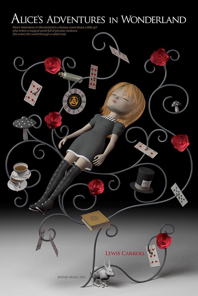 幻想 絵・幻想絵画・不思議の国のアリス