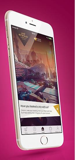 エティハド航空のモバイルアプリ 10OFFのキャンペーン価格