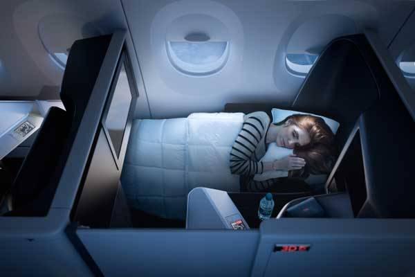 デルタ航空が個室タイプのビジネスクラス導入へ