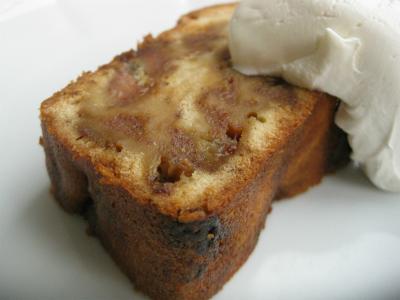 10月16日バナナのケーキ1