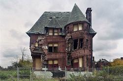 デトロイトの廃墟