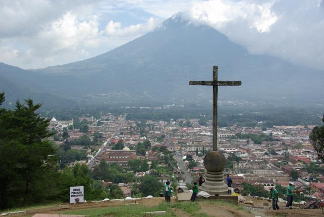 アグア山 アンティグア