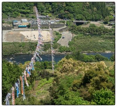 20160501-奥四万十-鯉のぼり-1