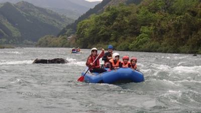 四万十rafting