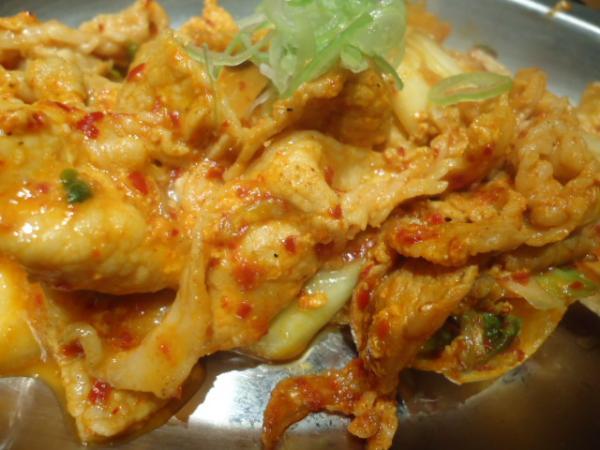 10/30 べじとん・豚キムチ、豆腐サラダ定食