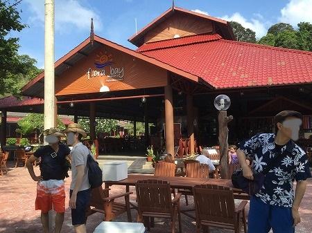 島のレストラン