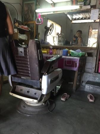 年代物の椅子