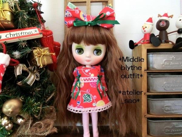 ミディブライス◆クリスマス☆ワンピ☆2