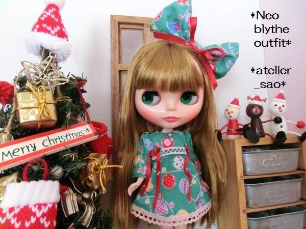 ◆ネオブライス◆クリスマス☆ワンピ緑1