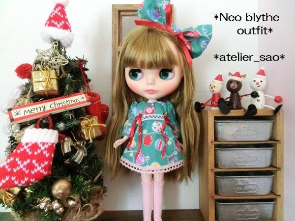◆ネオブライス◆クリスマス☆ワンピ緑2